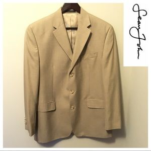 Sean John Men's Classic Sports Jacket in Tan - 40R